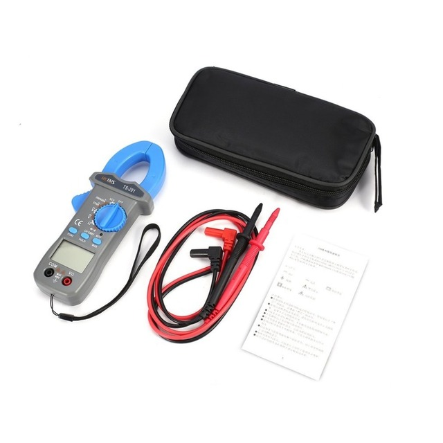 HYTAIS Dropshipping Multimeter 600A TS201 Digital Clamp Meter Auto Range Ranging 600V Current Voltage Tester NCV Test Voltmeter