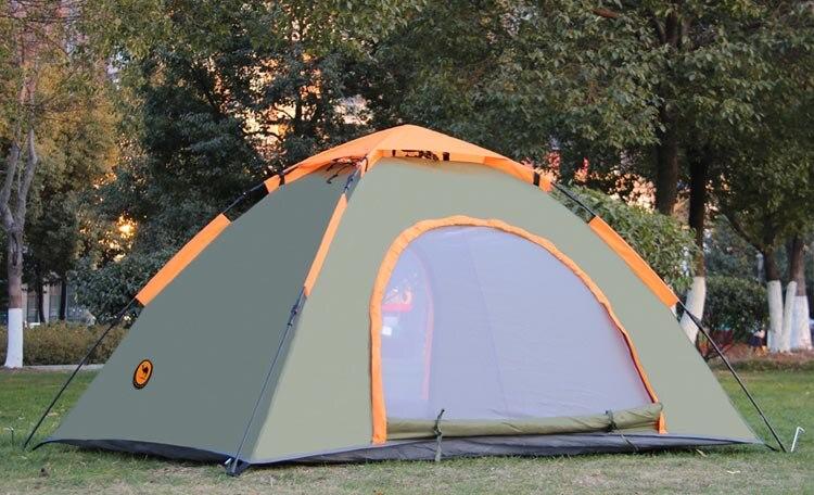 Бесплатная доставка костюм 1 2 человек Кемпинг Палатка Водонепроницаемый баррака палатка синий и серебряный naturehike палатка 2,5 кг - 2