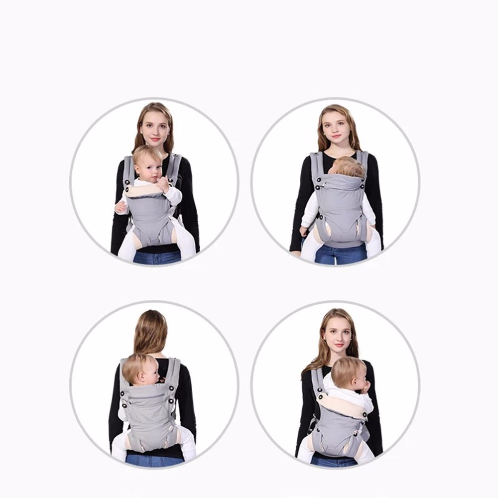 American Four Position 360 Baby Carrier Multifunction Breathable Infant Carrier Backpack Kid carrier Toddler Sling Wrap Suspende