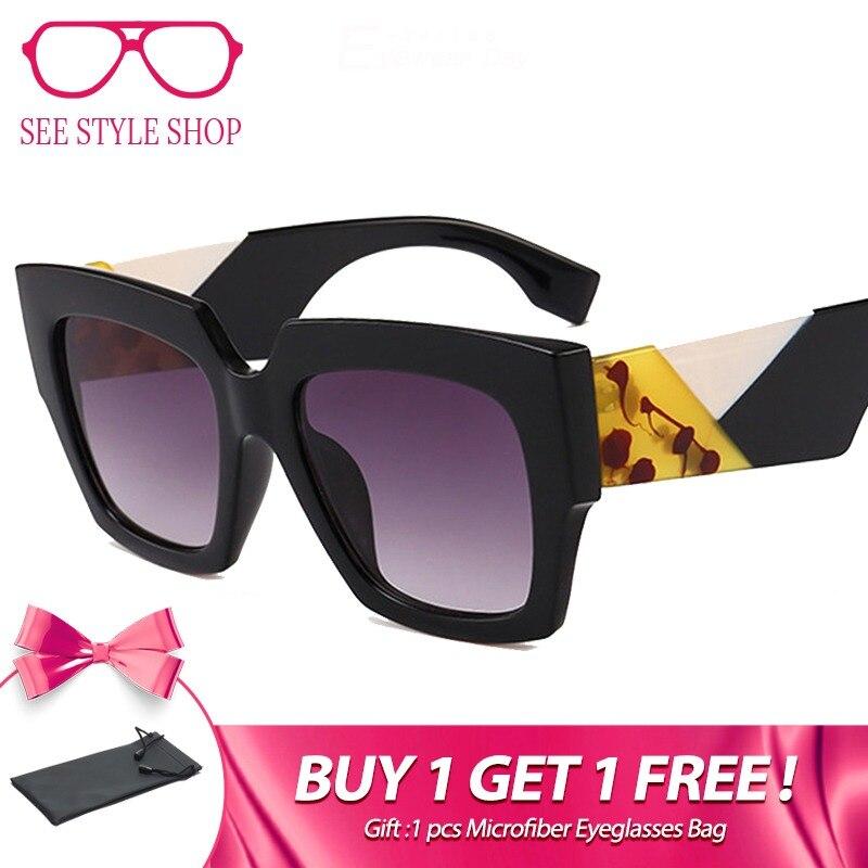 82da3c07c0 MADELINY nueva moda mujeres gafas de sol cuadradas de diseño clásico Vintage  2018 personalidad gafas de