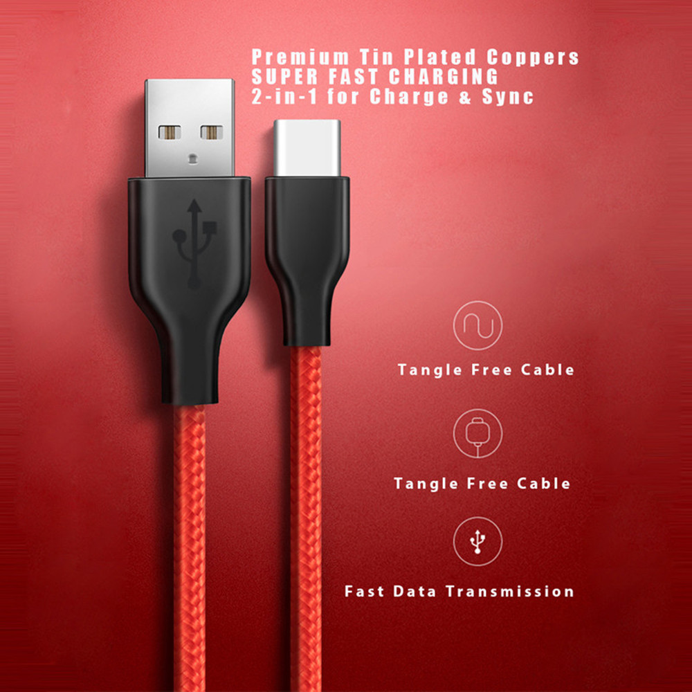 USB-Type-C-USB-3-1-Cable-VOXLINK-USB-C-Type-C-Sync-Charge-Cable-for