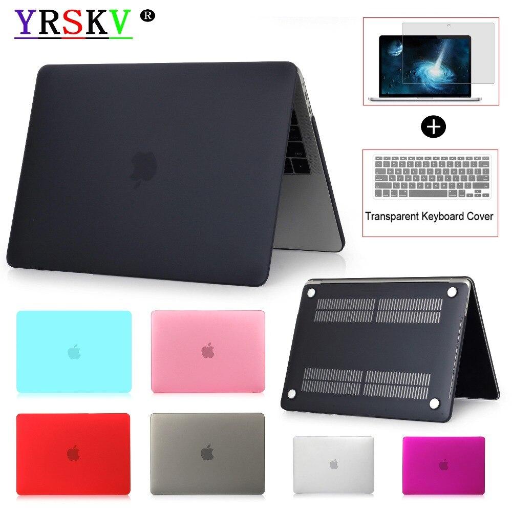 Neue 2018 YRSKV Laptop Fall Für MacBook Air Pro Retina 11 12 13 15 für Mac buch Neue Pro 13 15 zoll mit Touch Bar + Tastatur Abdeckung