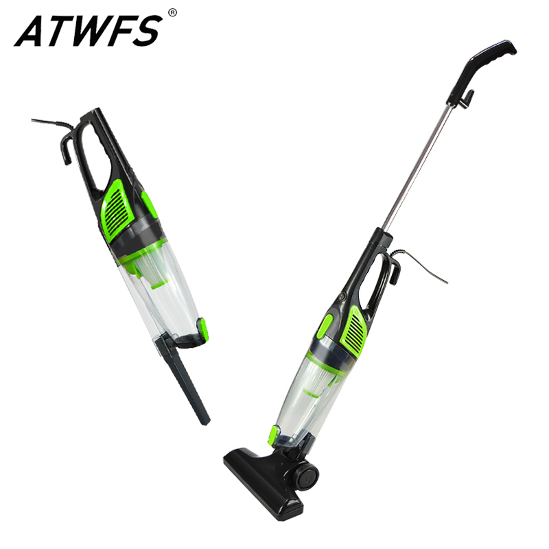 ATWFS Low Noise Portable Handheld Vacuum Cleaner 2 in 1 Dust Collector Ultra Quiet Mini Rod