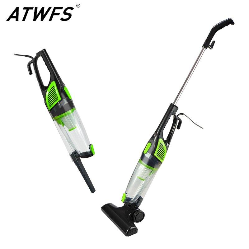 Atwfs baixo ruído portátil handheld aspirador de pó 2 em 1 coletor ultra silencioso mini haste aspirador de pó para casa limpeza