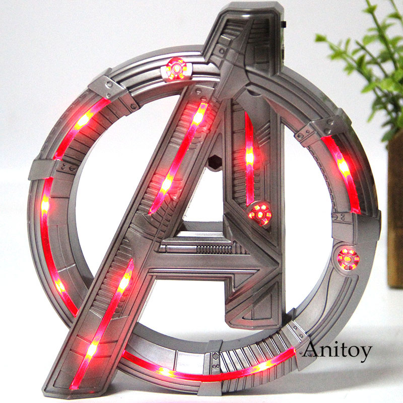 The Avengers Collection Model Toy Display Stand Marvel Figure Base Luminous With Light