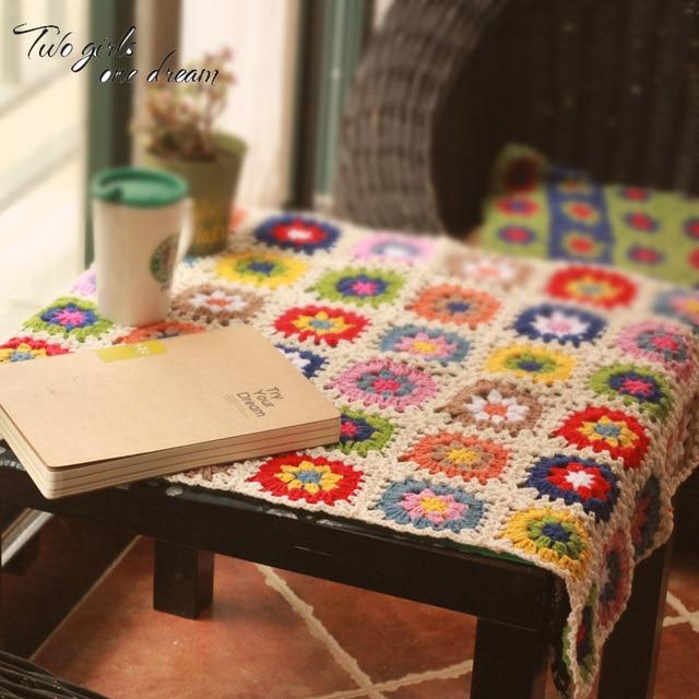 DIY Häkeln Tablemats Handgemachte Kissen Teppich Hand süchtig Mode ...