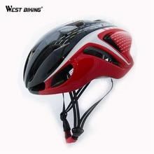 West biking 2017 nueva llegada marca profesional de la bicicleta casco de ciclista casco capacete ciclismo eps + pc 10 colores bike helmet
