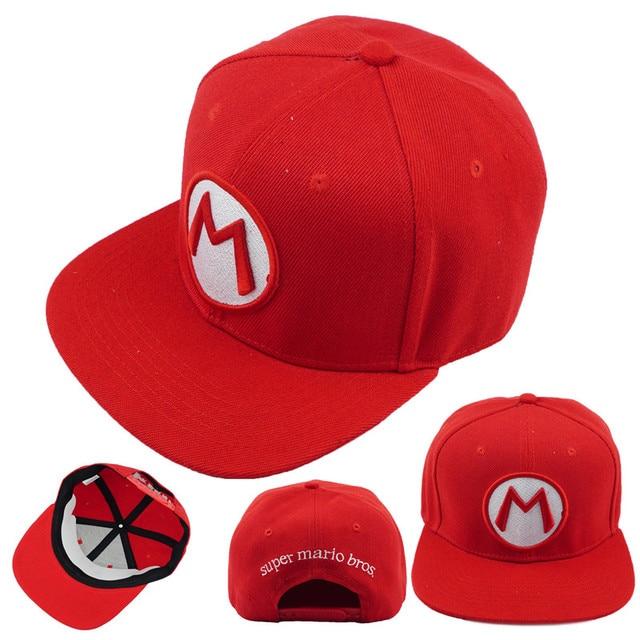7aad8aafe Game Super Mario Bros Hat Trucker Baseball Snapback Caps Hip Hop Hats For  Adult Boys Girls Cosplay Cap Gift