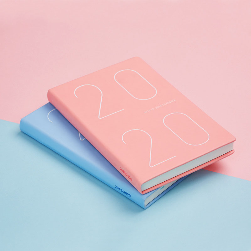 Agenda 2019-2020 Planner Organizer A5 Mini Diary Notebook And Journals Monthly Weekly Note Book Pad Office Schedule Handbook