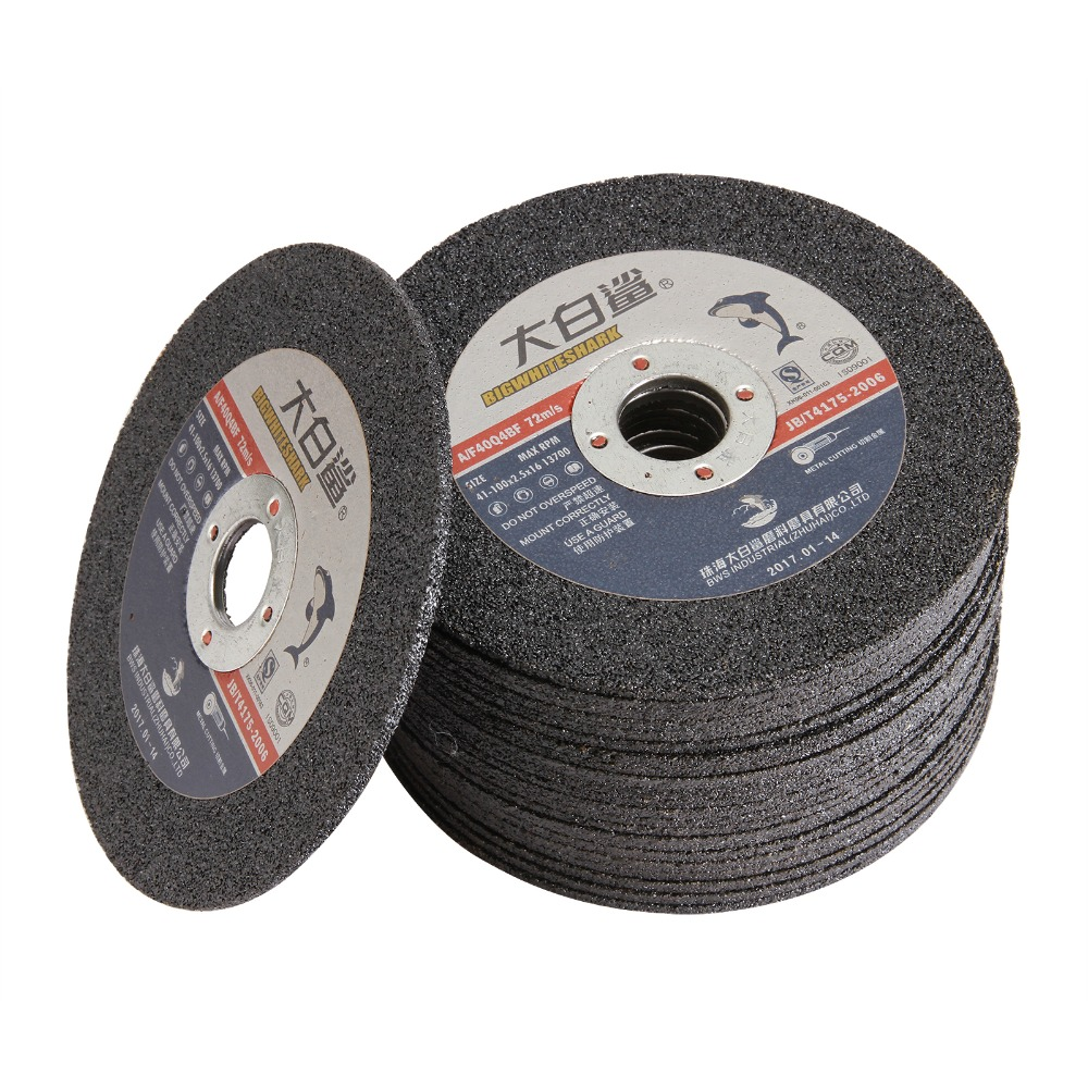 10PCS 100*2.5*16mm Dremel Accessories Resin Cut Off Wheel Disc Dual Cutting Wheel Sanding Discs Power Rotary Tools For Cutting