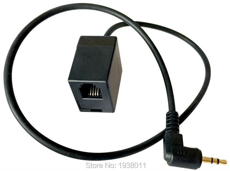 Adaptador de enchufe hembra RJ9 a macho, 2,5mm, RJ9/RJ11, auriculares a enchufe de 2,5mm, teléfono para auriculares con micrófono, Envío Gratis