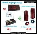 Fila Sistema de Chamada Sem Fio Com pager Coaster de Fast Food e Número Do Contador Display e Teclado Numérico
