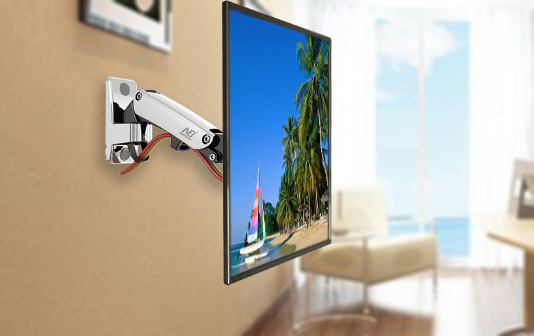 F200 smart tv mount retractable rotation monitor holder adjustable f200 smart tv mount retractable rotation monitor holder adjustable lift fits 30 40 led load capacity 1122ibs5 100kg in tv mount from consumer ccuart Images