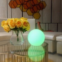 Remote Control Luminaria Moon Lamp USB Rechargeable Colorful Novelty Table Desk Lamp Creative Night Light Decor Birthday Gift