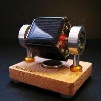 Tiny Mendocino Motor magnetic suspension Solar toy Scientific physics toys Pressure reducing EDC toy