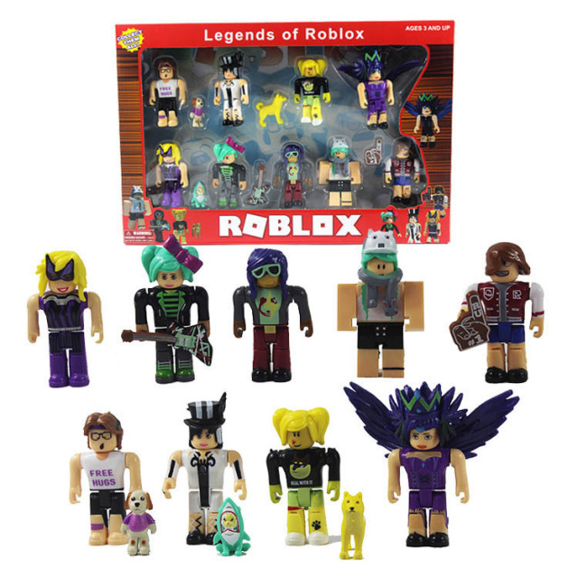 New Roblox Game Characters Figurines Action Figures Pvc Doll