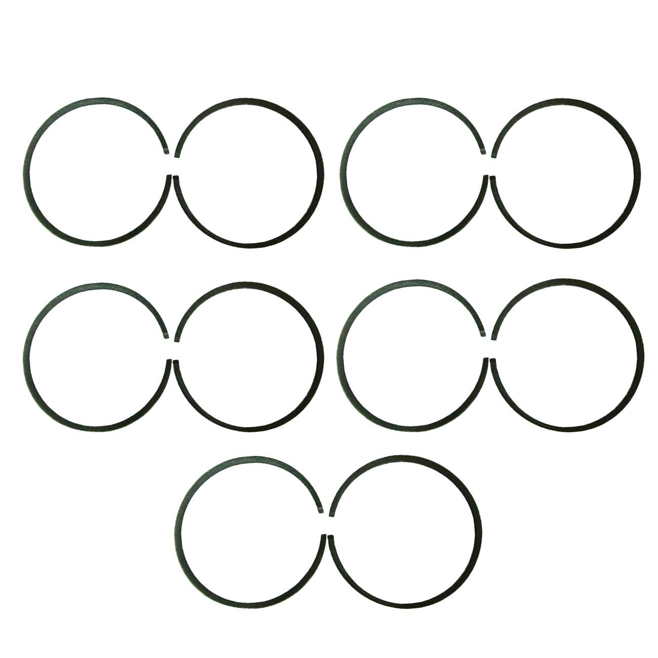 10x 47mm Piston Rings For 66cc 80cc Engine Motorised
