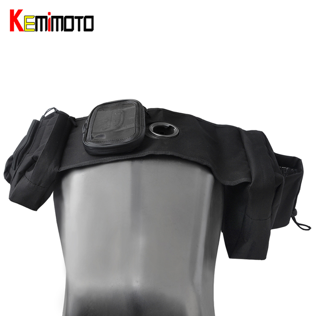 kemimoto motorrad satteltaschen f r atv tank tasche. Black Bedroom Furniture Sets. Home Design Ideas