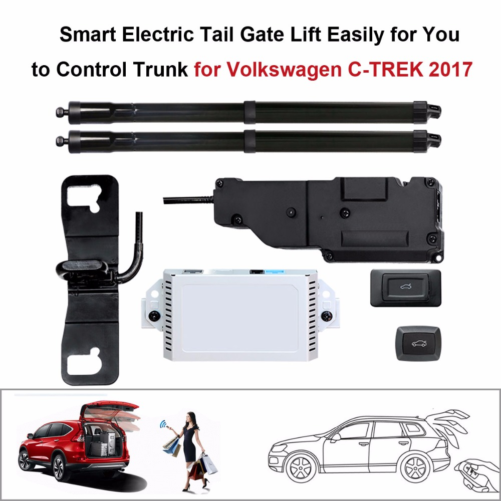 Auto  Electric Tail Gate Lift For VW Volkswagen C-TREK 2017 Control By Remote