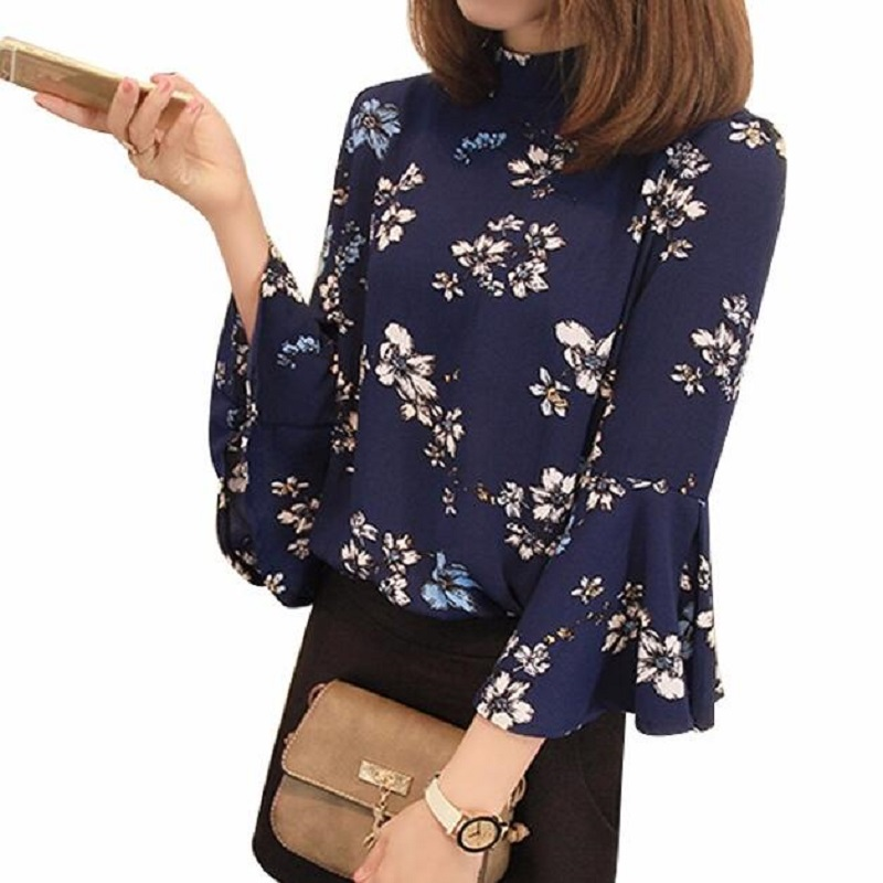 Buy Brand New Flare Sleeve Chiffon Shirt