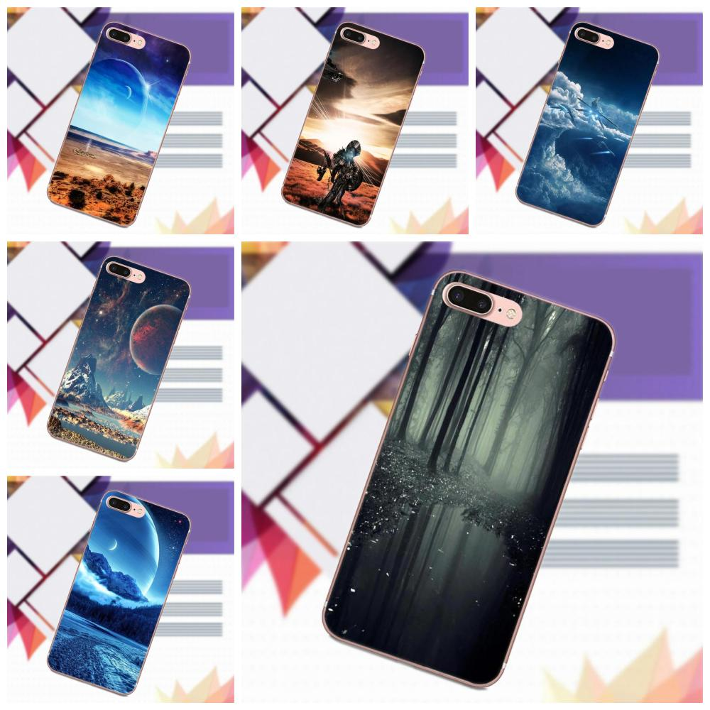 14c417f58f7 Scifi Landscape Abstract 3d For Sony Xperia Z Z1 Z2 Z3 Z4 Z5 compact Mini  Premium