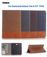 Fashion Leather Smart Case For Samsung Galaxy Tab A 8 0 T350 T355 P350 P355 Tablet