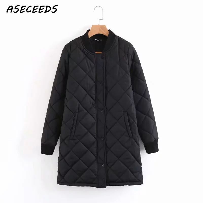 Winter long coats and   jackets   women 2019 Spring female coat casual black bomber   jacket   women   basic     jackets   pocket zipper outwear