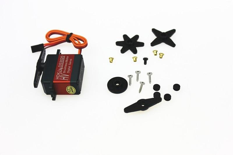 HDKJ D3020 20Kg 80g Full Metal Digital Robot Servo Brushless High Torque 90 Degree Rotation Waterproof