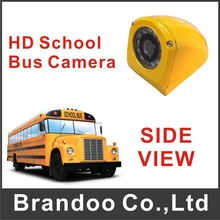 Side view IR Car Camera Waterproof Camera For School Bus