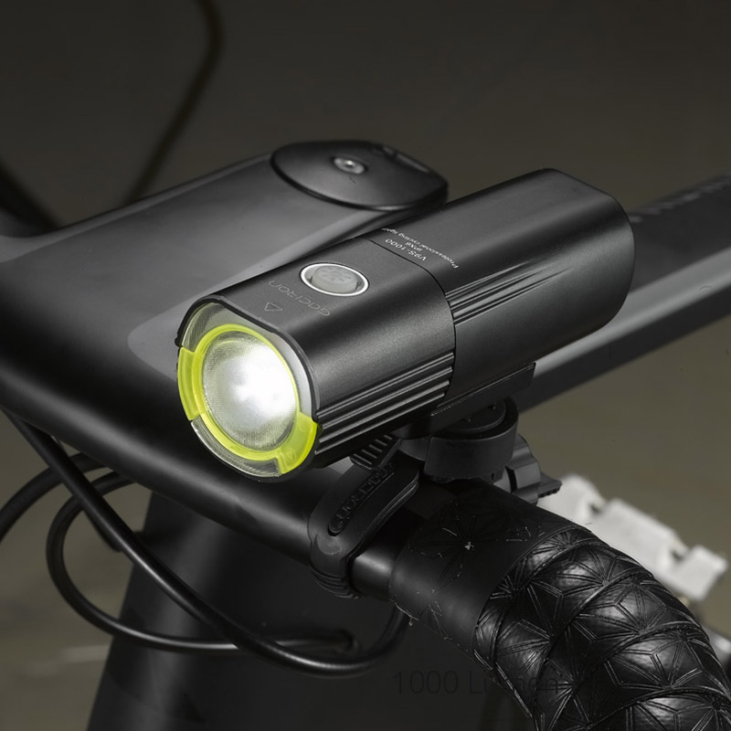 Rechargeable Road Bike Bicycle LED Front Light Headlamp Headlight As Power Bank