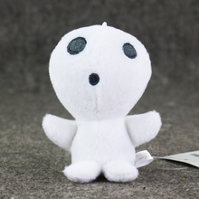 10cmt Anime Cartoon Miyazaki Hayao Princess Mononoke Keychains Figures Plush Doll Toys Pendants Key Chains Kids
