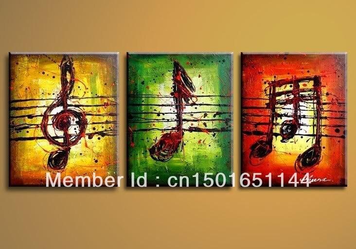 Peint à la main abstraite moderne Art peinture à l\'huile de l ...