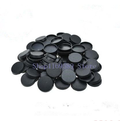 Lot Of 100PCS 25mm Round Bases For Miniature Wargames Table Games