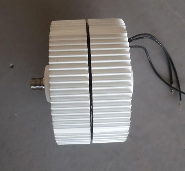 300W AC12V/24V Brushless Rare Earth WIND TURBINE GENERATOR PERMANENT MAGNET ALTERNATOR