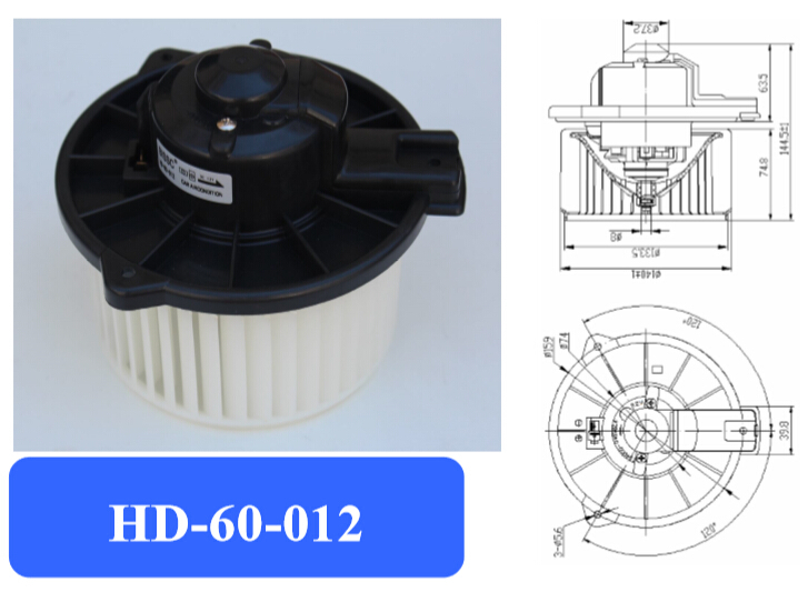 Automotive air conditioning blower motor electronic fan for Home ac blower motor replacement cost