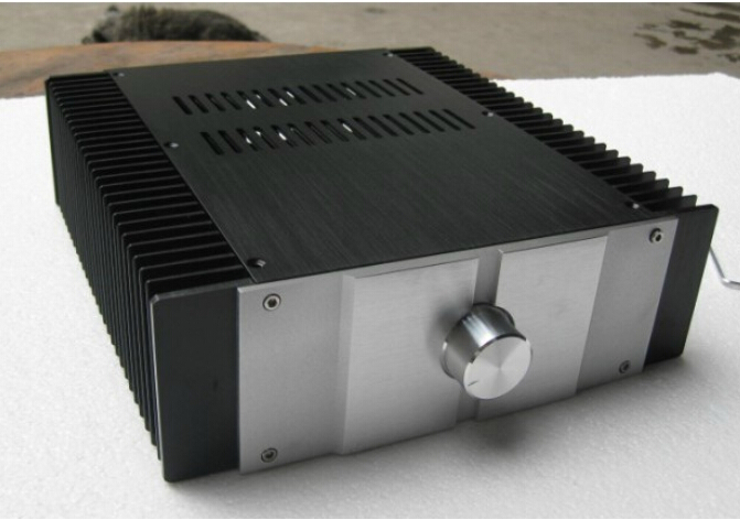 QUEENWAY audio aluminum Case chassis for diy amplifier A JC229 enclosure 300mm*90mm*311mm  300*90*311mm queenway audio 2215 cnc full aluminum amplifier case amp chassis box 221 5mm150mm 311mm 221 5 150 311mm