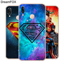 DREAMFOX M240 Hot Superman Soft TPU Silicone Case Cover For Huawei Honor 6A 6C 6X 7A 7C 7S 7X 8 Lite Pro