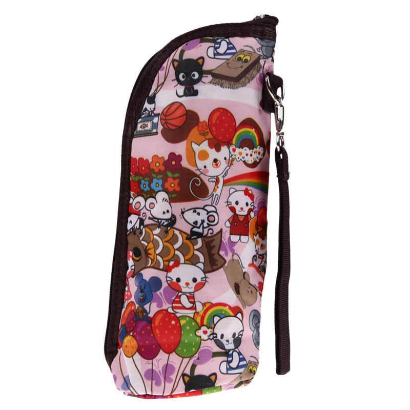 Wheelchair bag Bottle Storage carriage bag Travel Portable Baby Feeding Milk Bottle Warmer Mummy insulation thermo bag