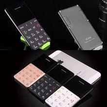 AEKU Qmart Q5 2G GSM Karte Handy 5,5mm Ultradünne tasche Mini Slim Karte Telefon 0,96 zoll QWERTY Tastatur Karte Zelle telefon