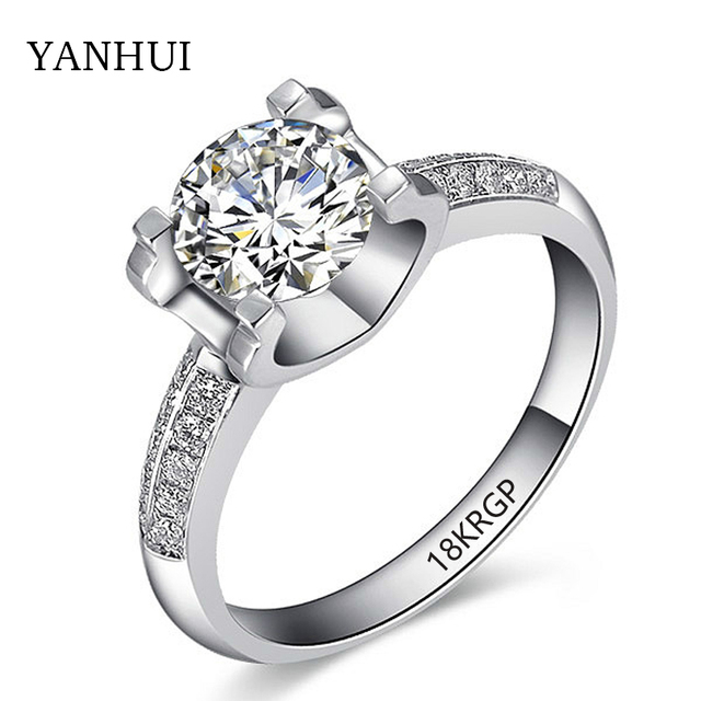 Big Promotion Gold Ring With 18KRGP Stamp Real Pure Gold Color