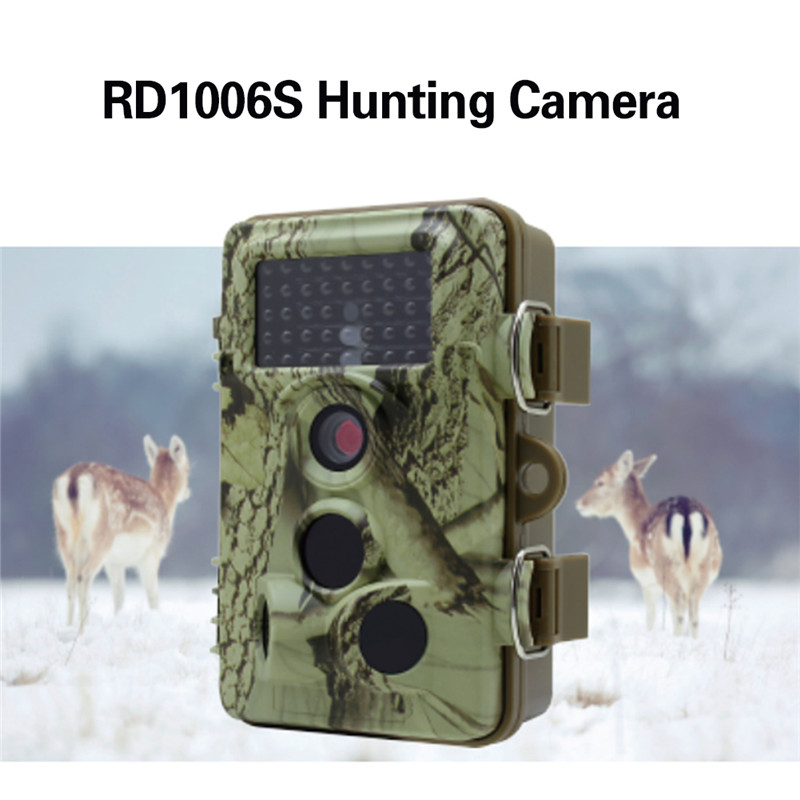 RD1006S Hunting Trail Camera chasse HD 12MP 1080P scouting Game Camera 3PIR Infrared For Wildlife Monitoring digital hunting camera trail scouting wildlife 12mp 1080p hd stealth security