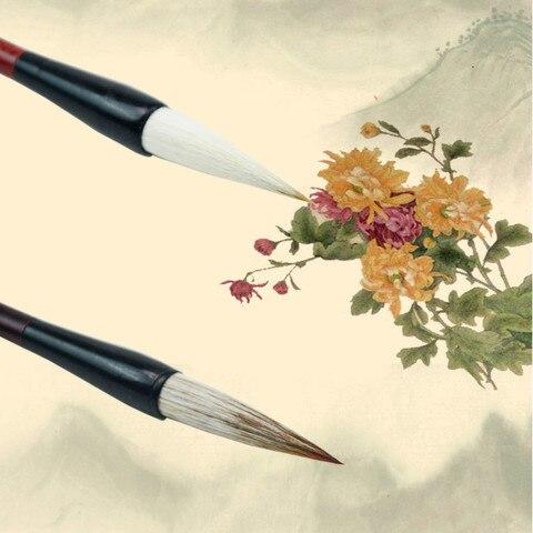 pinceis chineses da caligrafia caneta conjunto de