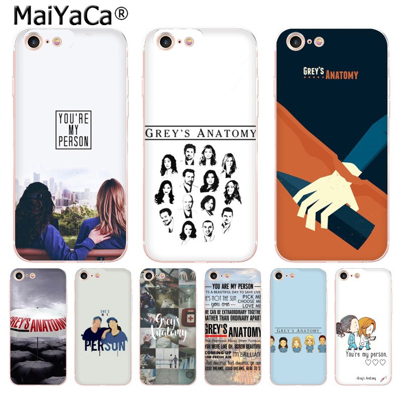 MaiYaCa American TV Greys Anatomy Luxury fashion cell phone case for ...