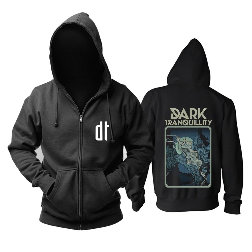 18 видов молнии темное спокойствие группа рок толстовки куртка с черепом 3D брендовая рубашка панк смерти темный свитер в стиле хеви-метал XXXL - Цвет: 17