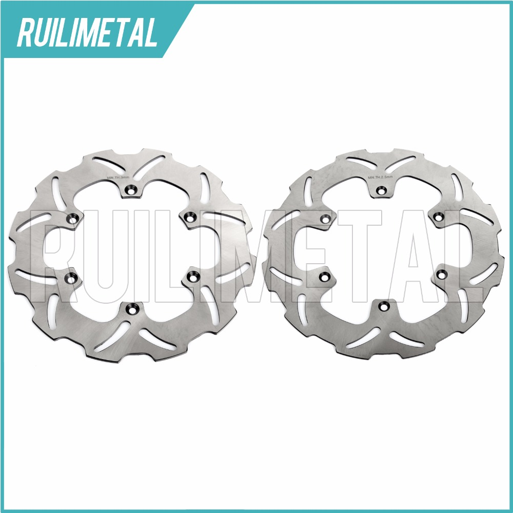 Full Set Front Rear Brake Discs Rotors for WR 125 1998 1999 2000 YZ 125 98 99 00 YZ-WR 250 1998-2000 YZF 426 2000 front rear brake pads for yamaha yz 125 250 1998 2002 wr 250 426f 01 02 yz 426 2000 2002
