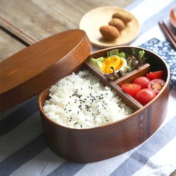 Bento en bois Style japonais