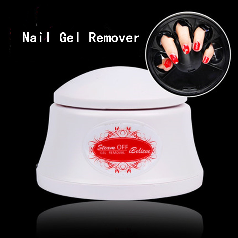 Aliexpress Nail Gel Polish Remover Machine 220v Steam Off Removal Steamer For Home Salon Pro Art Tool From Reliable