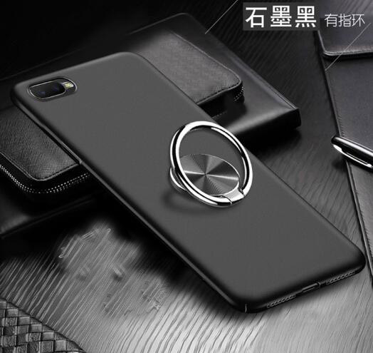 360 Degree Ring Finger Holder Car Magnet Phone Case On For OPPO RX17 Neo Stand Case For OPPO RX17 Neo Rx17neo RX 17 Neo 6.4 Inch