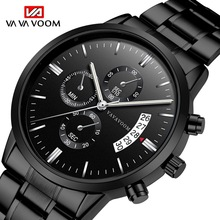 Relogio Masculino Mens Watches Top Brand Luxury Business Waterproof Wristwatch Relojes 2019 Watch Men Fashion Sport Quartz Clock цена в Москве и Питере