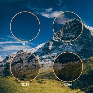 Image 5 - Filtro de lentes de câmera ulanzi osmo, filtro de lentes cpl para dji osmo action nd8/nd16/nd32 cpl conjunto de acessórios osmo ação